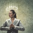 Saint businesswoman — Stock Photo #29309289