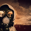 Man in gas mask — Stock Photo #29316203