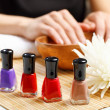 Woman is getting manicure — Stock Photo #29317995