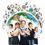 gruppo di bambini — Foto Stock