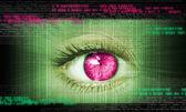 Close-up of human eye — Stock Photo