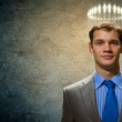 Saint businessman — Stock Photo #29582285