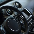 Stock Photo: Car steering wheel