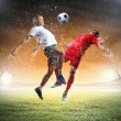 Two football player — Foto de stock #29896279
