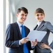 Businesspeople at work — Stock Photo