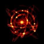 Atom image — Stock Photo