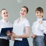 Three young businesswomen — Stock Photo #29942563