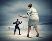 Business dispute — Stock Photo
