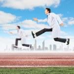Running doctors — Stock Photo #29994671