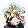 Group of kids — Stock Photo #29994699