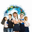 Group of kids — Stock Photo #29995291