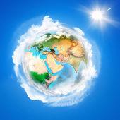Earth planet — Stock Photo
