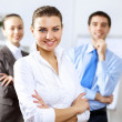Young business people working together — Foto Stock #30141111