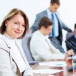 Four businesspeople at meeting — Stock Photo #30141811