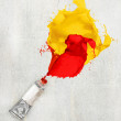 Paint tube — Stock Photo