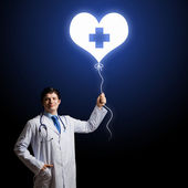 Doctor cardiologist — Stock Photo