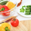 Fresh healthy food — Stock Photo #30250591