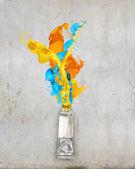 Paint tube — Stock Photo