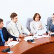 Four businesspeople at meeting — Stock Photo #30424117