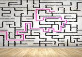 Abstract maze — Stock Photo