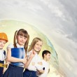Group of kids — Stock Photo #30506937