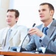 Two businessmen at meeting — Stock Photo #30507395