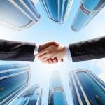 Business handshake — Stock Photo #30508679