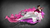 Moderní tanečnice — Stock fotografie