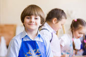 Children drawing and painting — Stock Photo
