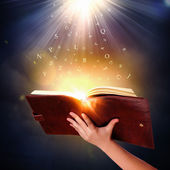 Magic book — Foto de Stock