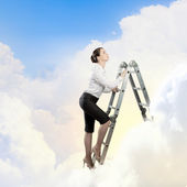 Ladder of success — Stock Photo