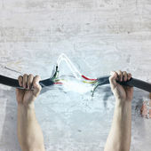 Power cable — Stock Photo