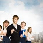Choosing future profession — Stock Photo