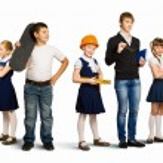 Choosing future profession — Stock Photo #30994387