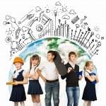 Choosing future profession — Stock Photo #30994451
