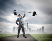 Power in business — Stock Photo