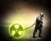 Nuclear future — Stock Photo