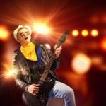 摇滚明星 — 图库照片