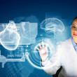 Woman scientist — Stock Photo