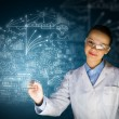 Stockfoto: Young researcher