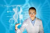 DNA molecule — Stock Photo