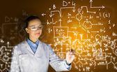 Junge forscher — Stockfoto