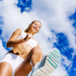 Sport girl — Stock Photo #31095391