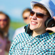 Young man with headphones — Stock Photo #31098395