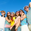 Group of young people — Stockfoto