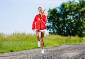 Sport girl — Stock Photo