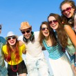 Group of young people — Stock Photo #31100759