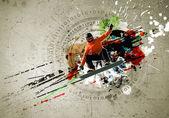 Imagen de graffiti — Foto de Stock