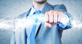 Power and determinism — Stock Photo
