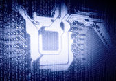 Micro circuit — Foto de Stock